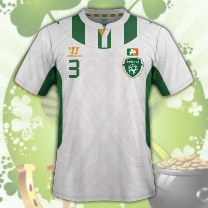 Ireland Away Kit v1