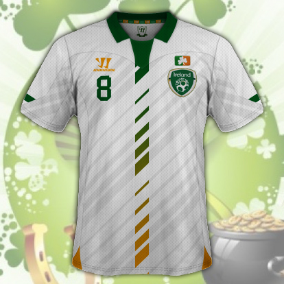 Ireland Away Kit v2