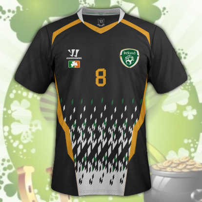 Ireland Away Kit v3