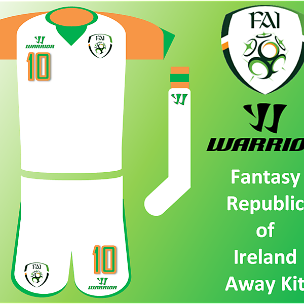 Warrior - RoI Away Kit