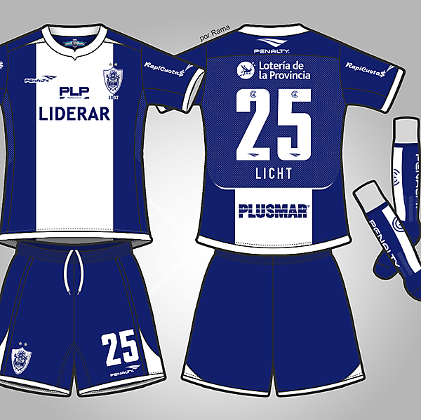 Club de Gimnasia y Esgrima La Plata - Away Kit