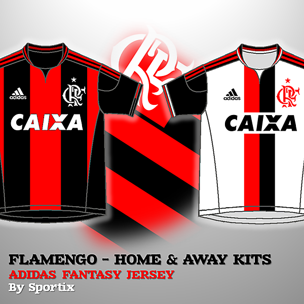 Flamengo Home & Away Kits 2015/16