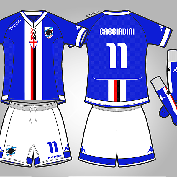 U.C. SAMPDORA - HOME KIT