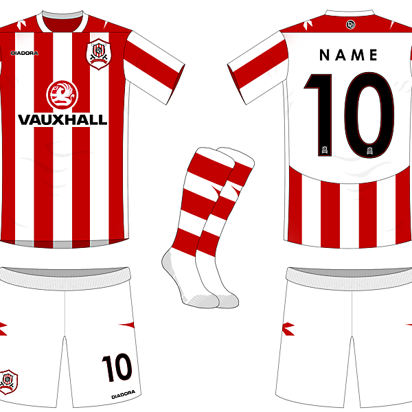 Donfield United Home Kit