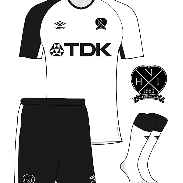 Heart of North London Crest and Home Kit