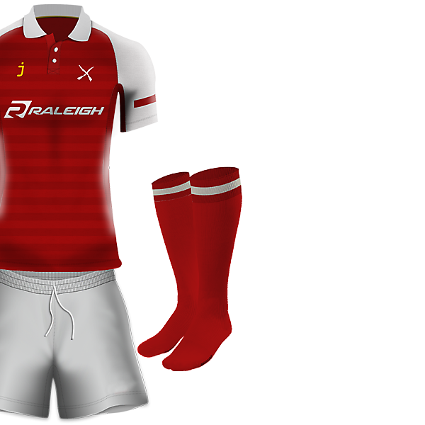 Islington Fusiliers Home kit by J-sports
