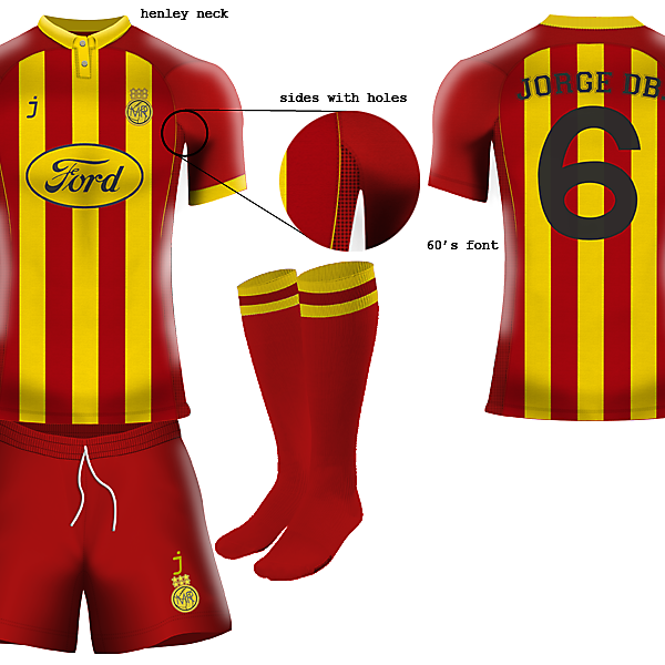Melchester Rovers home kit