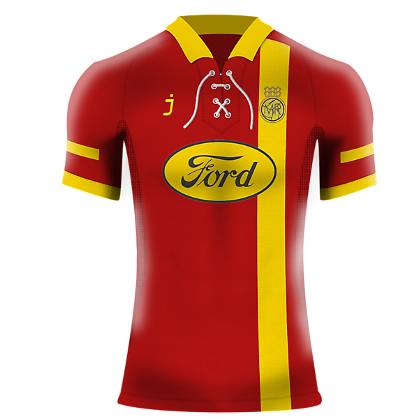 Melchester Rovers home shirt