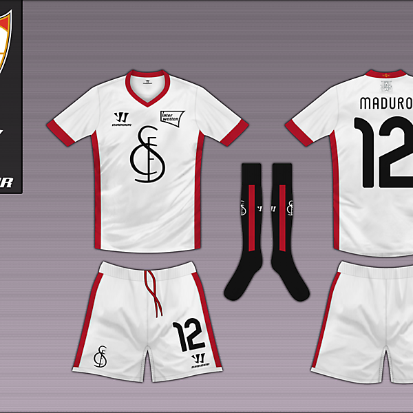 Sevilla FC Home - Warrior