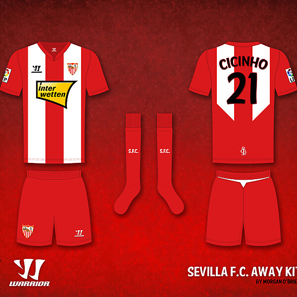 Sevilla F.C. Away Kit by Morgan O\'Brien