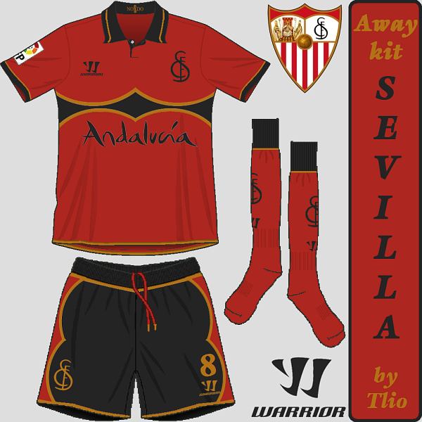 Sevilla FC away kit
