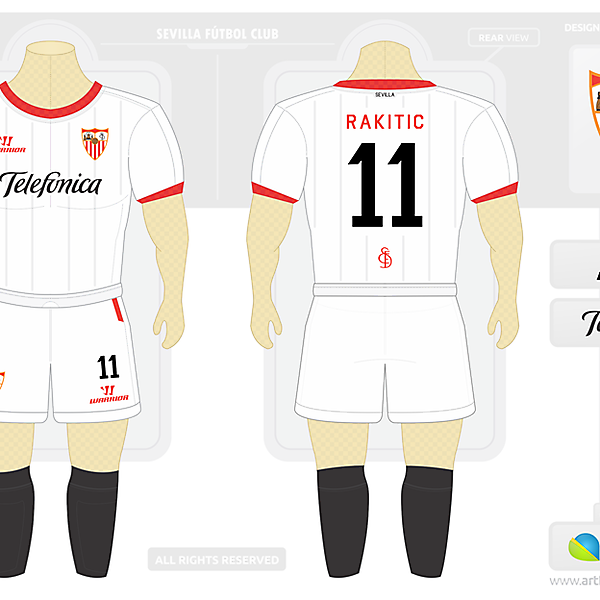 Sevilla Home Kit Warrior