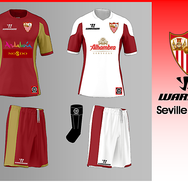 Seville FC Warrior Kit