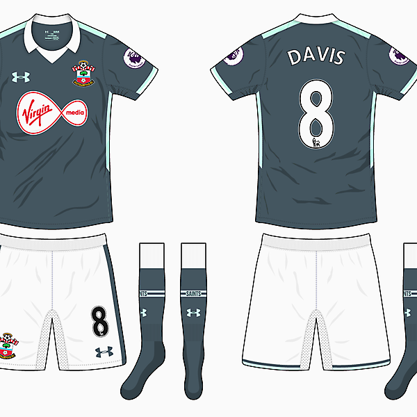 Southampton Away Kit - Under Armour