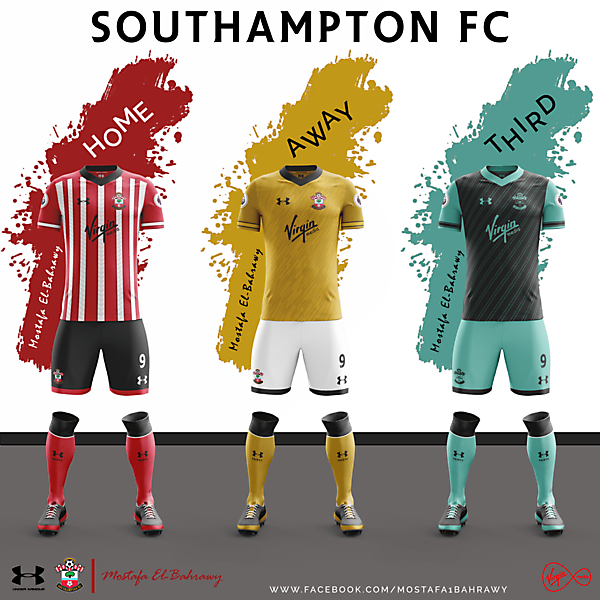 Southampton Fantasy Under Armour Kits (2016-2017) ..