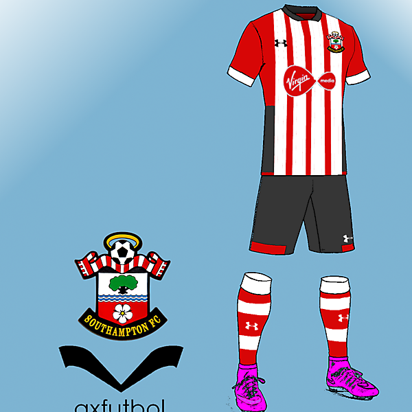 southampton fc under armour HOME