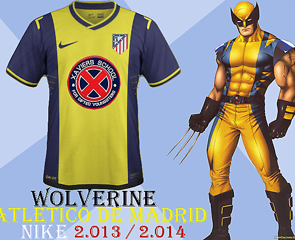 Atletico Madrid-Wolverine Away