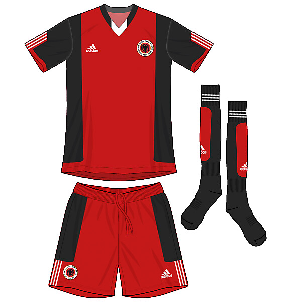 Albania Deadpool Adidas Kit