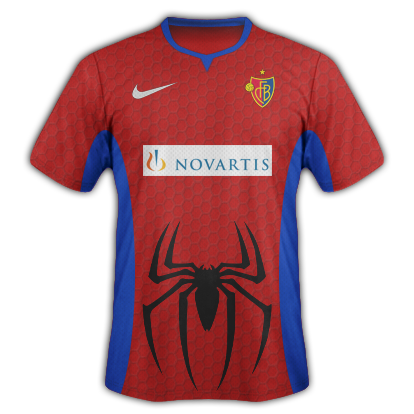 FC Basel - Spiderman Inspired