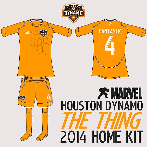 Houston Dynamo The Thing Home Kit