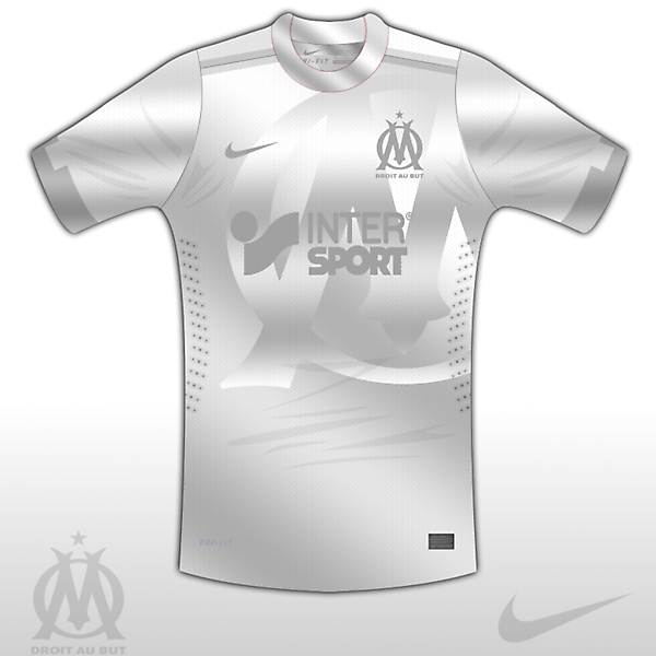 Marseilla Third Kit (Silver Surfer)