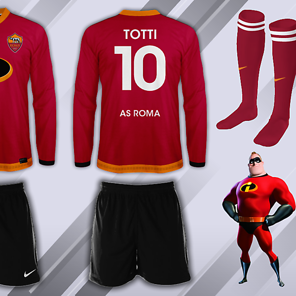 AS Roma Incredibles