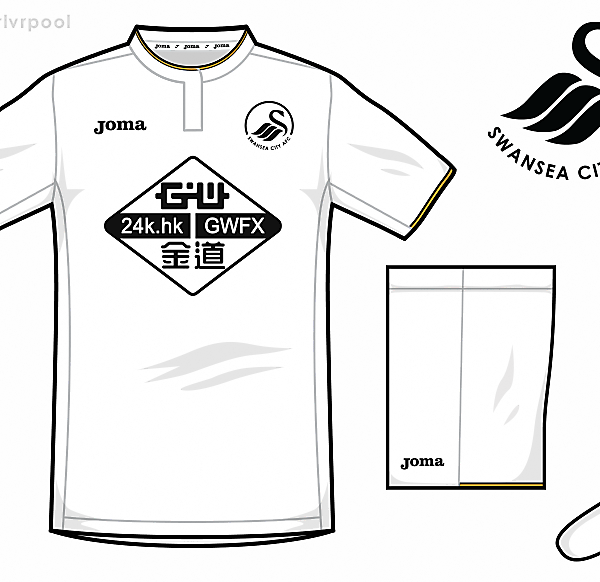 Swansea Joma Home Kit