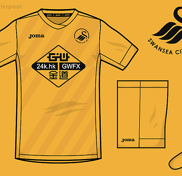 Swansea Joma Third Kit