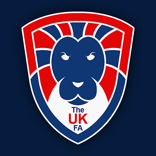The UK FA Crest Design - Updated Version