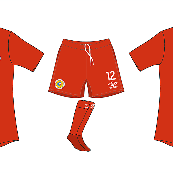 Bahrain home by Umbro (WC Competition)