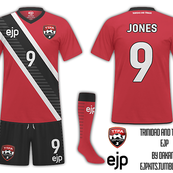 Trinidad and Tobago WC Comp Kit