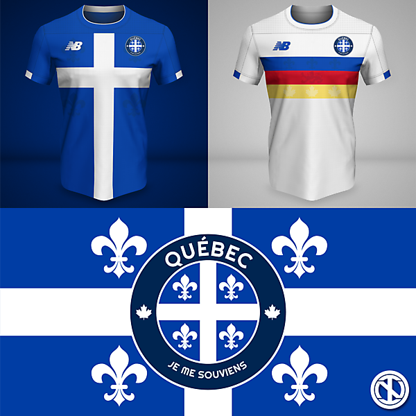 Québec | Home and Away Kits