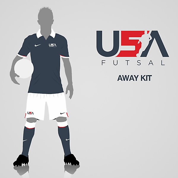USA Futsal Away Kit