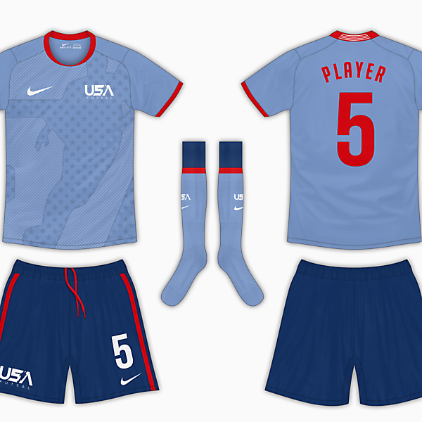 USA Futsal Final - Alternative Kit