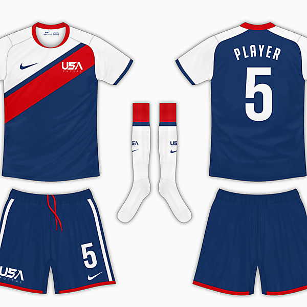 USA Futsal Final - Away Kit v1