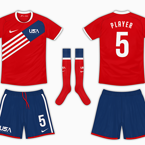 USA Futsal Final - Away Kit v2