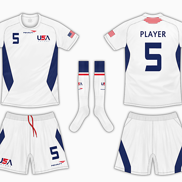 USA Futsal Home Kit 1 - Penalty