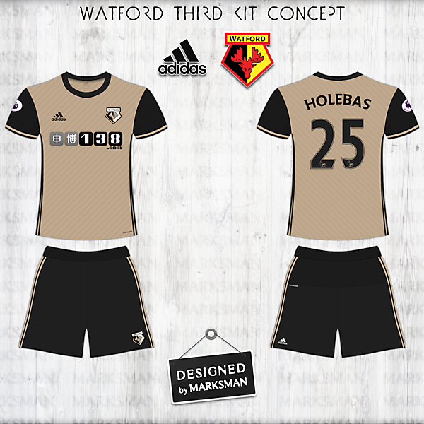Watford Third Kit
