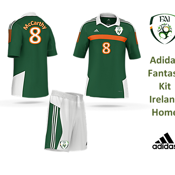 Adidas Fantasy Kit - Ireland Home