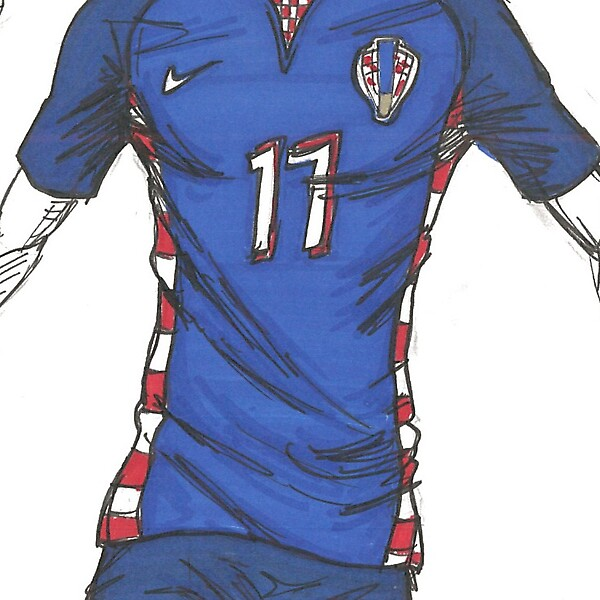 Croatia - WC14 Away
