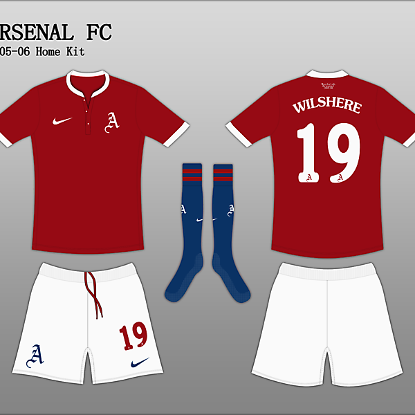 Arsenal 1905 Home Kit