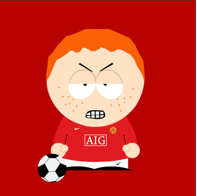 If Wayne Rooney was in South Park...