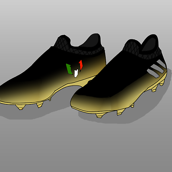 Custom Messi 16+ PureAgility  ''Nachos'' Custom