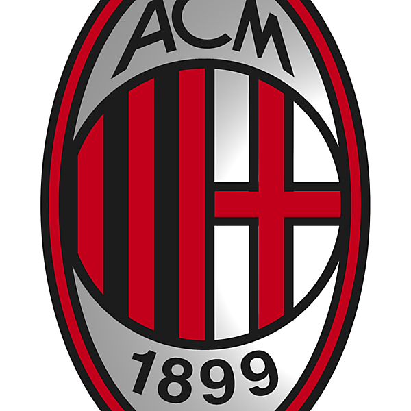 AC Milan logo modernisation