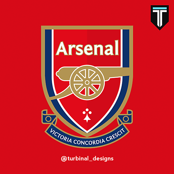 Arsenal FC Crest Redesign