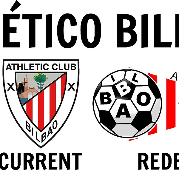 Atlético Bilbao FC New Logo Idea