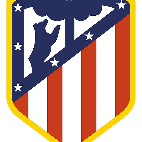 Atletico Madrid Crest Redesign