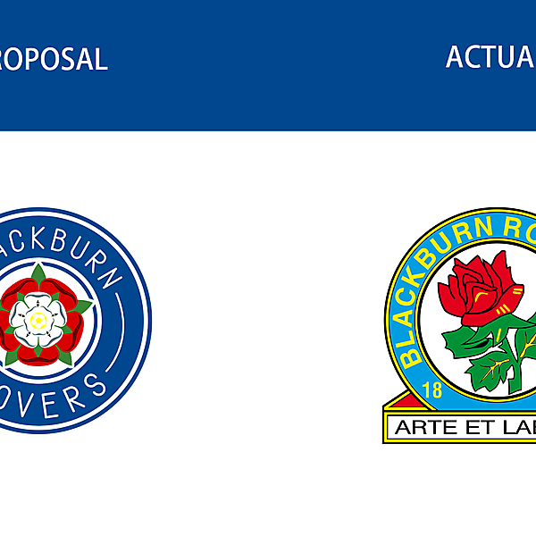 Blackburn Rovers - Logo redesign