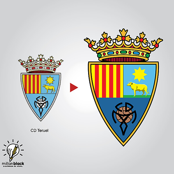 CD Teruel - Badge redesign