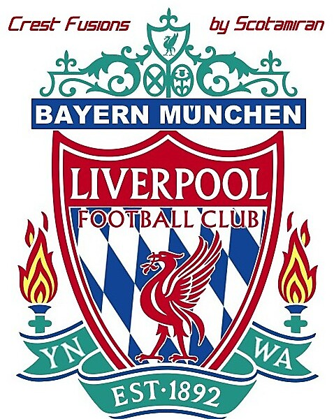 Crest Fusions - Liverpool and Bayern